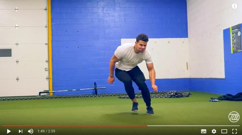 【動きに緩急をつけたい!】低姿勢から生み出す爆発的な瞬発力トレーニングの写真