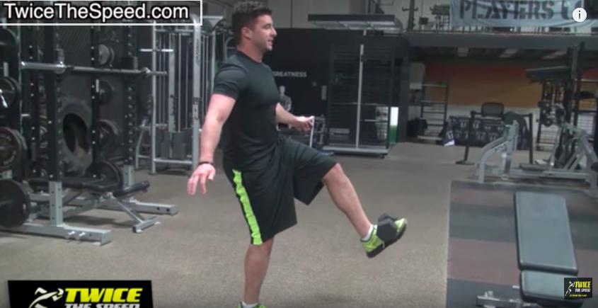ジムで簡単にできる!スピードUPに必要な腸腰筋トレーニングの写真