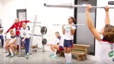 【全身の瞬発力を高める】フランス女子ナショナルチームの取り組みの写真