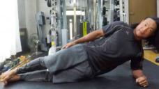 【体幹・内外腹斜筋を鍛える】サイドプランクの写真