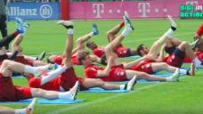 【ハムストリングスをケアしよう】FCバイエルンがチームで実践するストレッチの写真