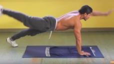 【6パックを鍛える】体幹サーキット(4種目)に挑戦してみよう!の写真