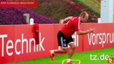 【動きに緩急をつけたい選手にオススメ!】ロッベン選手の一瞬で止まる技術を意識したトレーニングの写真