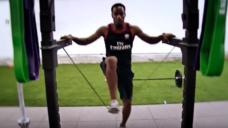 【世界最速ラグビー選手が実践する2種類のスプリント強化メニュー!】の写真