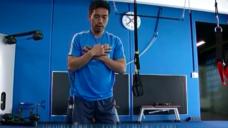 【肉離れ対策をしよう!】インテル長友選手が実践するハムストリングのトレーニングの写真