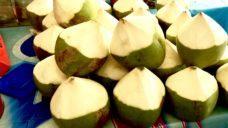 【水分補給から夏バテ予防・疲労回復を考えよう!】こまめな水分補給とココナッツ!の写真