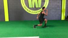 【ブレないスムーズな走りを養おう!】世界最速ラグビー選手の室内トレーニングの写真
