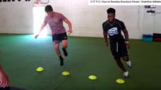 【キレのある動きを養おう!】片足で素早く体を動かすトレーニングの写真