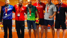 【世界マスターズ水泳で2つの金メダル】元日本代表スイマー今井亮介の写真