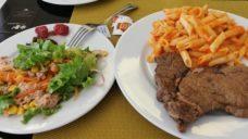 【体づくりのヒントにしよう!】スペインでの遠征時の食事はシンプルかつボリューミーの写真