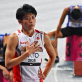 「陸上4x400mR」日本代表 佐藤拳太郎