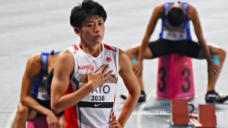【サポート契約締結】陸上4x400mR日本代表 佐藤拳太郎(さとうけんたろう)選手の写真
