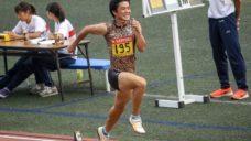 【サポート契約締結】陸上三段跳び 池畠旭佳瑠(いけはたひかる)選手の写真