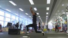 【腸腰筋の活性化、骨盤の安定向上】即実践可能なランジトレーニングの写真