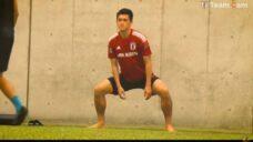 【股関節•骨盤周り筋肉強化と柔軟性向上】植田選手実践!四股ふみエクササイズの写真