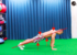 【クロール動作中の体のラインを安定させよう!】陸上で行うプランクトレーニング